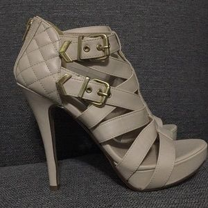 Charlotte Russe Caged Heels
